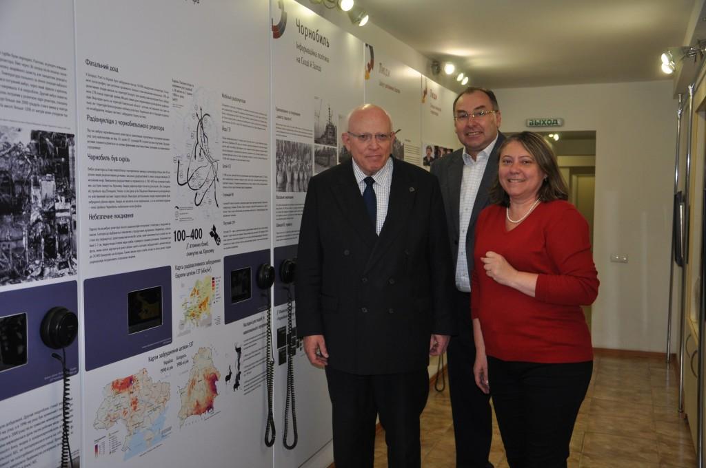 Deutscher Generalkonsul besucht Geschichtswerkstatt Tschernobyl
