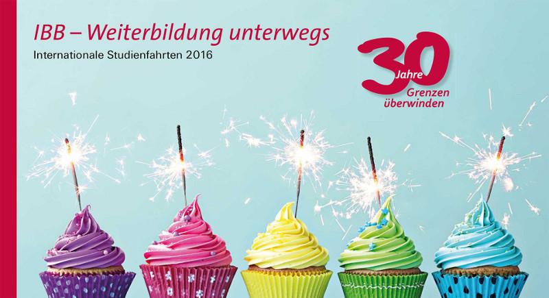 30 Jahre IBB  – Das neue Jahresprogramm ist da