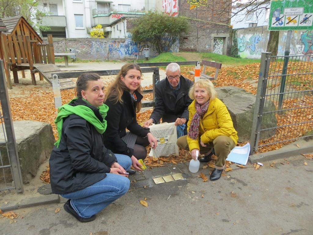 IBB beteiligt an stadtweiter Stolperstein-Aktion