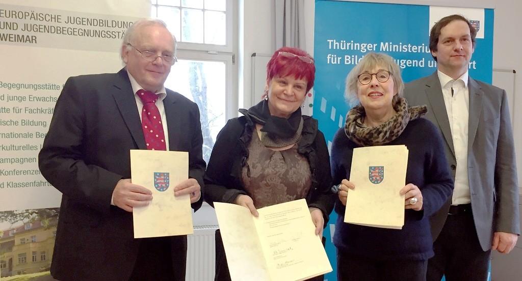 Kooperation mit Thüringen: Mehr als 100 000 Euro für Gedenkstättenfahrten