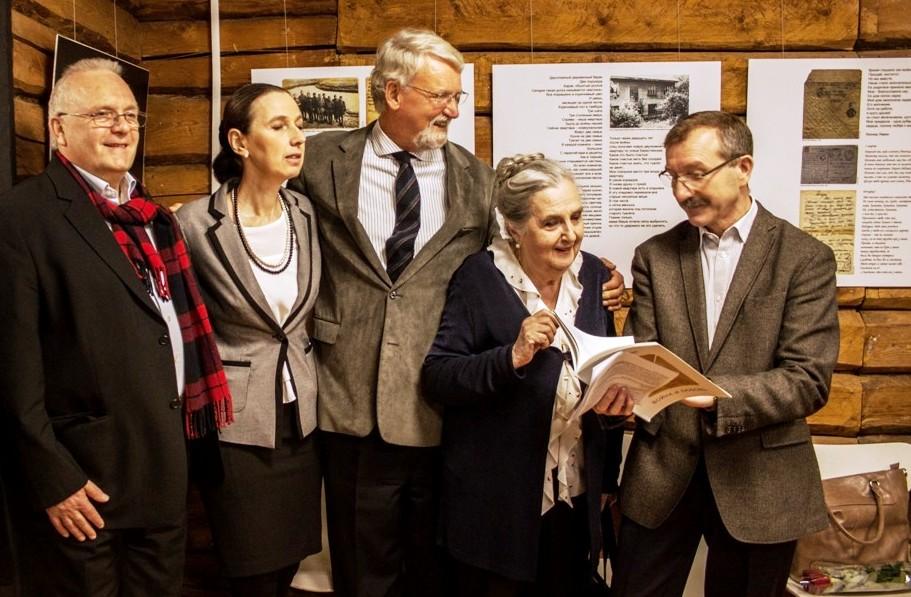 """Ausstellung """"Krieg und Liebe"""" in der Geschichtswerkstatt """"Leonid Lewin"""" eröffnet"""
