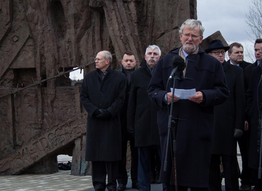 Internationale Gedenkstunde in Trostenez: Erinnerung, die uns vereint!