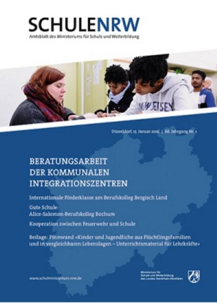Amtsblatt Schule NRW berichtet über Gedenkstättenfahrten des IBB