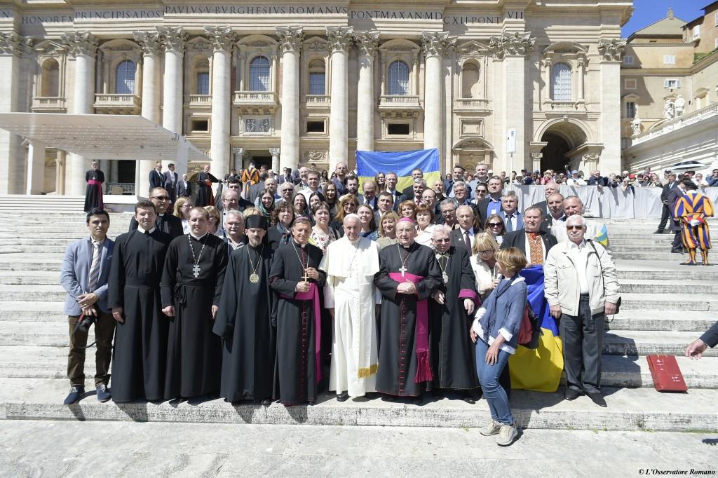 """Papst Franziskus betet für Betroffene von Tschernobyl- """"Ich stehe Euch bei"""""""