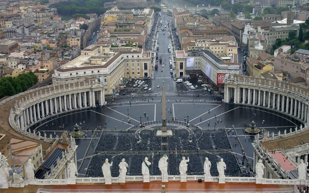 Papst Franziskus empfängt Liquidatoren von Tschernobyl in einer Generalaudienz in Rom