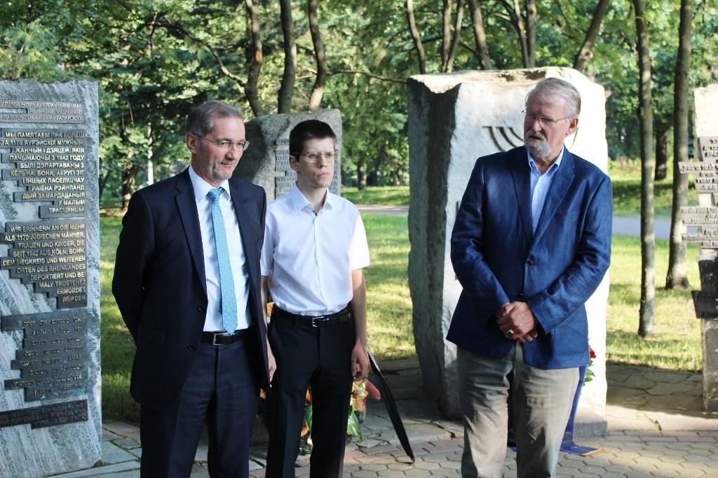 Gedenkstunde in Minsk erinnerte an Kriegsbeginn vor 75 Jahren