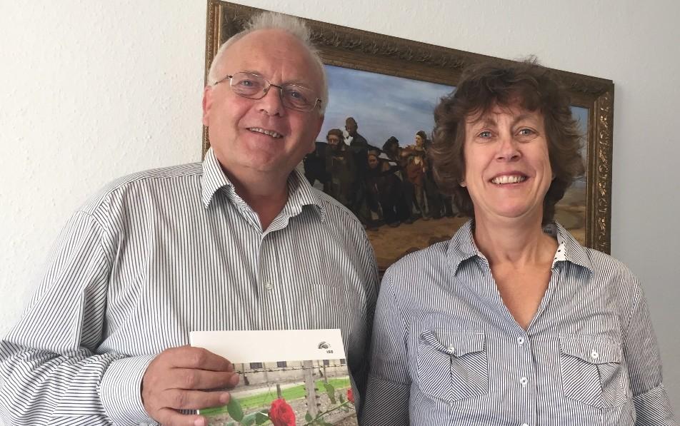 Geschichtslehrerin Susanne Wycisk berät bei der Planung von Gedenkstättenfahrten