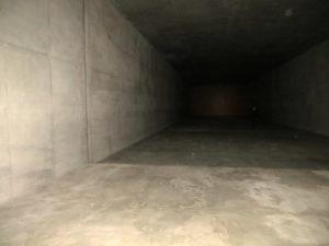Raum der Stille in der Gedenkstätte Belzec