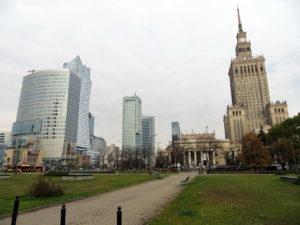 Warschau: Skyline mit Kulturpalast