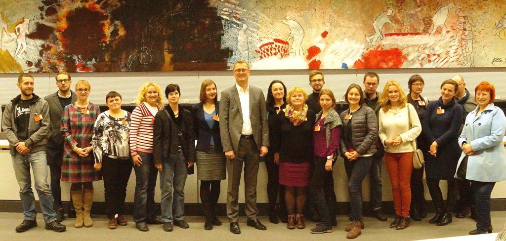 Bildungsreise für belarussische Journalistinnen und Journalisten nach Berlin und Brandenburg