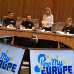Pimp my europe: Treffen zwischen Jugendlichen und Abgeordneten im Landtag
