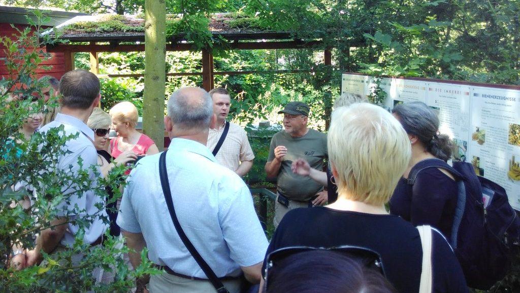 IBB organisierte UNDP-Reise nach Brandenburg und Thüringen