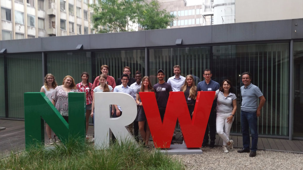 """""""Europe inside"""" in Brüssel und Lille – Jugendliche aus NRW lernen Arbeit der EU kennen"""