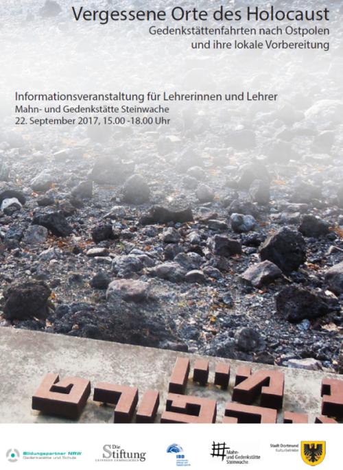 Vergessene Orte des Holocaust – Gedenkstättenfahrten nach Ostpolen und ihre lokale Vorbereitung