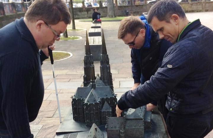 Delegation aus der Ukraine zu Gast im Kompetenzzentrum blista in Marburg