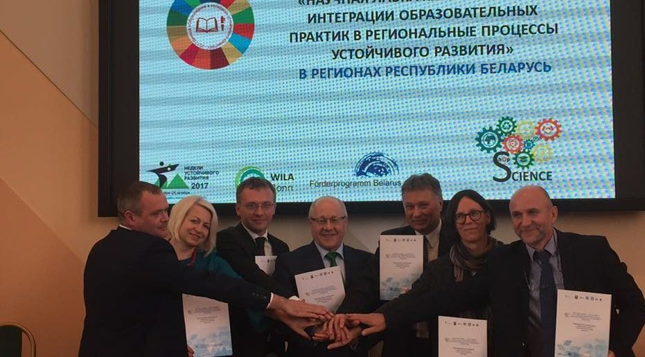 Woche der nachhaltigen Entwicklung 2017 in Minsk eröffnet
