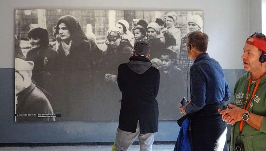 Fortbildung des IBB Dortmund am Lern- und Gedenkort Auschwitz