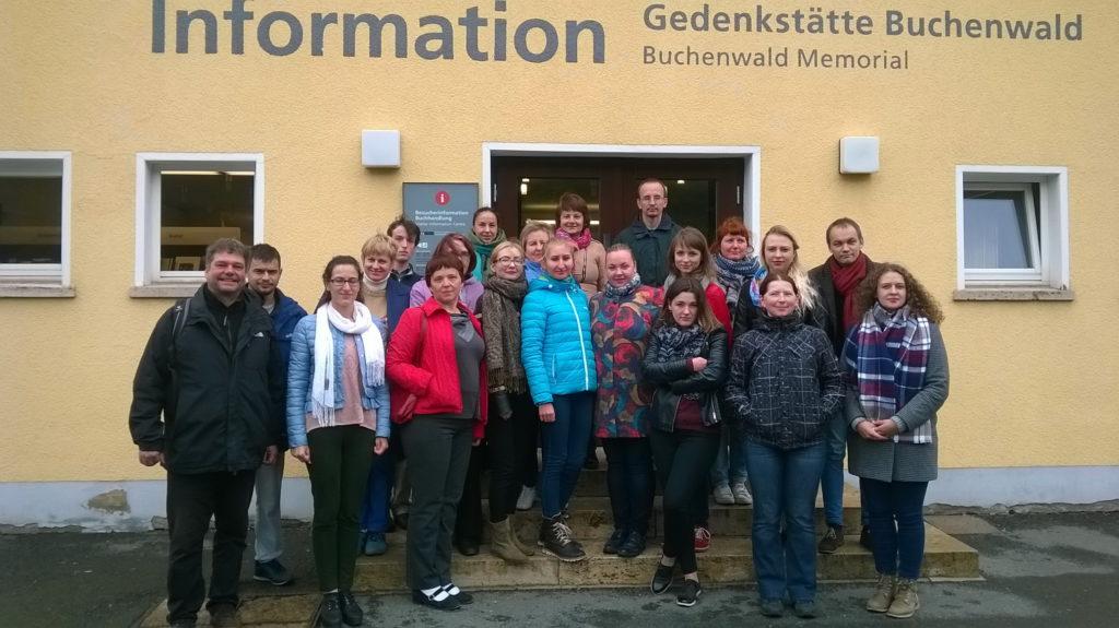 Geschichtswerkstatt Minsk organisierte Studienreisen zur Erinnerungskultur nach Buchenwald und Berlin