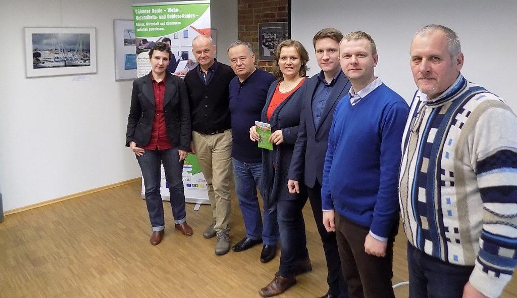 Delegation aus Grodno informiert sich in Sachsen-Anhalt über gute Beispiele nachhaltiger Entwicklung