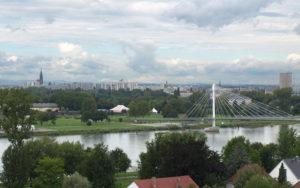 Kehl Blick auf Strassburg
