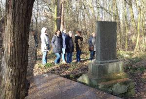 Lehrergruppe unterwegs in Majdanek und Umgebung