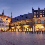 Rathausmarkt in Lübeck