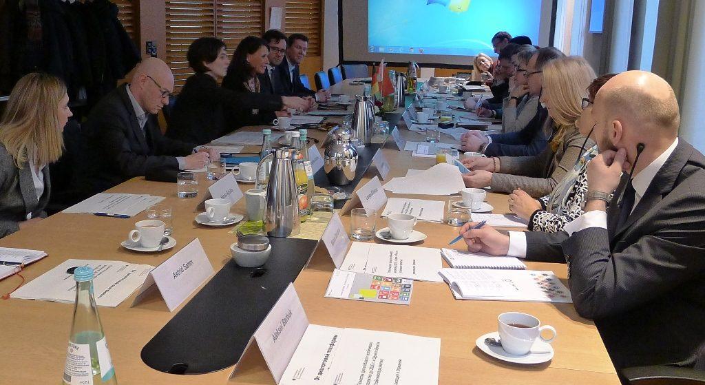 Agenda 2030 eröffnet neue Perspektiven für die belarussisch-deutsche Zusammenarbeit