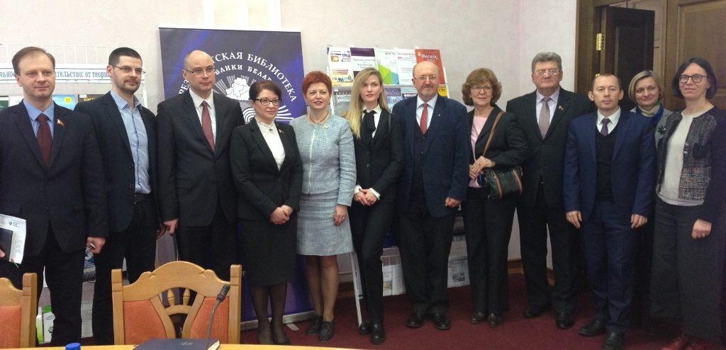 Runder Tisch zum Sozialen Unternehmertum im belarussischen Parlament