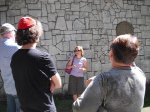 Führung auf dem jüdischen Friedhof in Krakau
