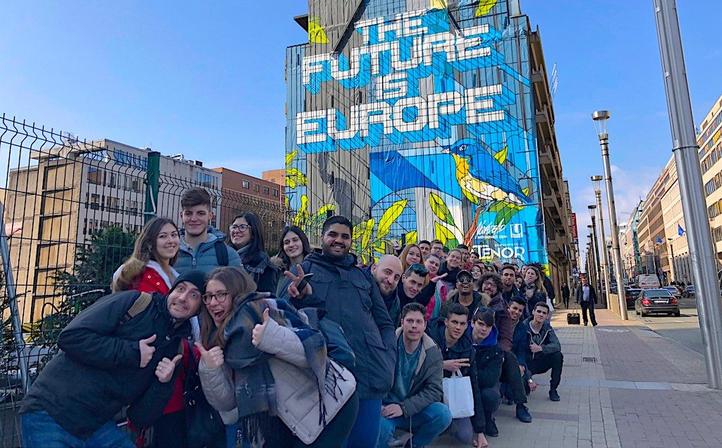 "A commanding conclusion: ""Pimp my Europe"" youth conference in Brussels"