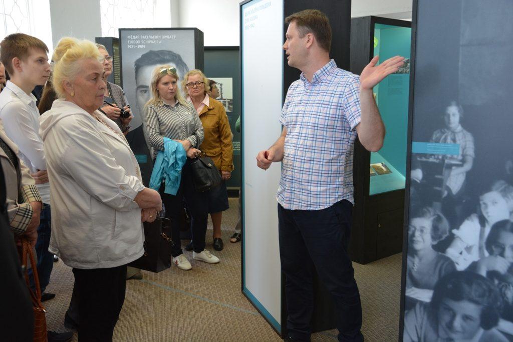 """Wanderausstellung """"Vernichtungsort Malyj Trostenez. Geschichte und Erinnerung"""" in Witebsk eröffnet"""