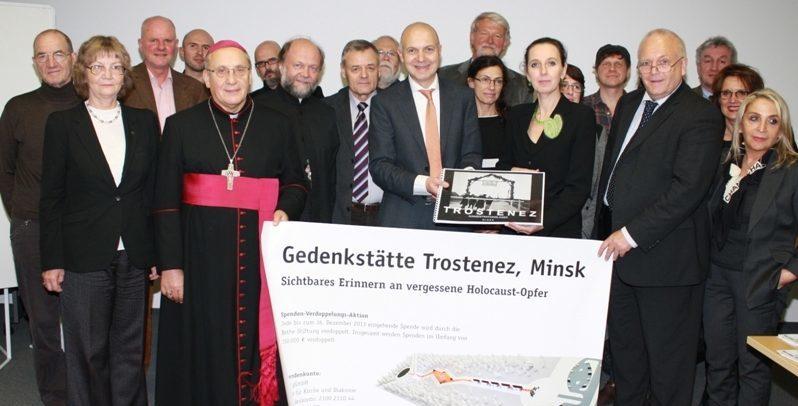 Land Nordrhein-Westfalen unterstützt  europäische Initiative für Gedenkstätte Trostenez