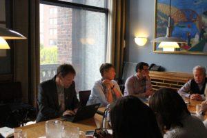 Toralv Moe, Diversity-Beauftragter der Stadt Oslo, berichtete über die Integrationsprogramme der Stadt Oslo.