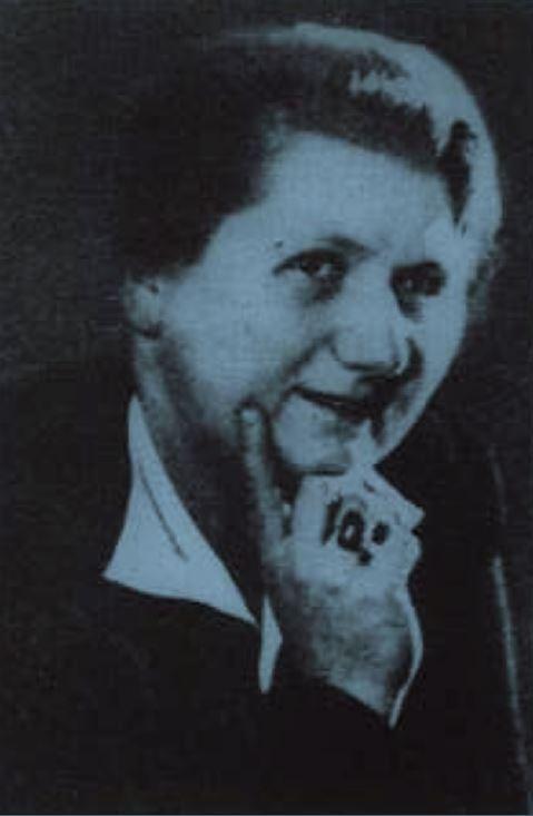Dieses Portraitfoto zeigt Martha Gillessen, die wenige Tage vor Kriegsende im April 1945 in der Bittermark in Dortmund ermordet aufgefunden.