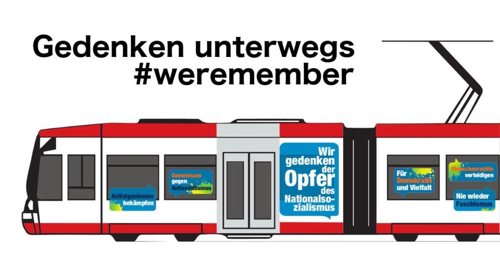 Gedenken unterwegs – Sonderfahrt der U43 am 27. Januar in Dortmund