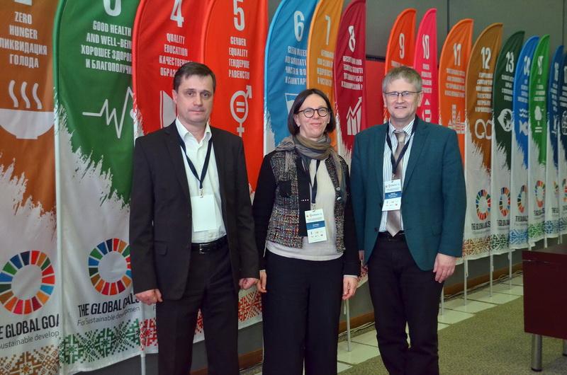 Unser Foto zeigt Dr. Astrid Sahm, Geschäftsführerin der IBB gGmbH Dortmund. Sie nahm als deutsche Expertin am ersten Forum teil.
