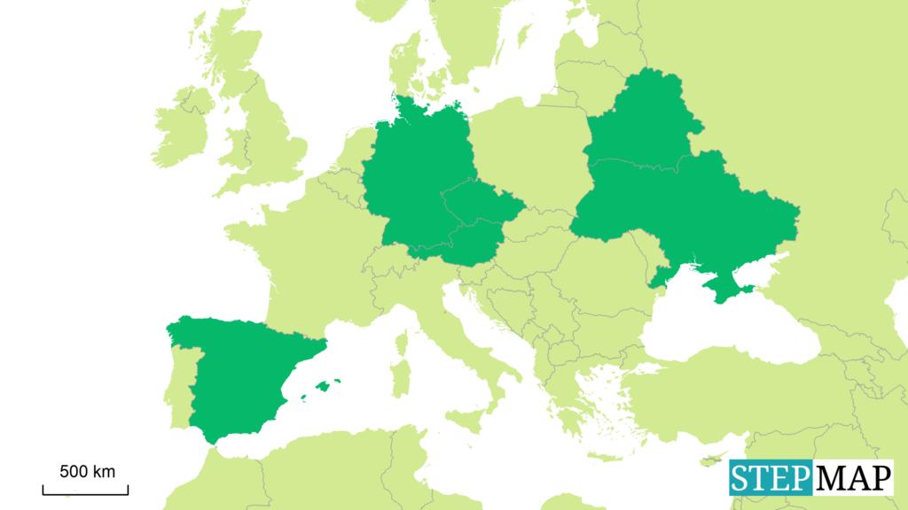 Tschernobyl Karte.Europäische Aktionswochen Ibb