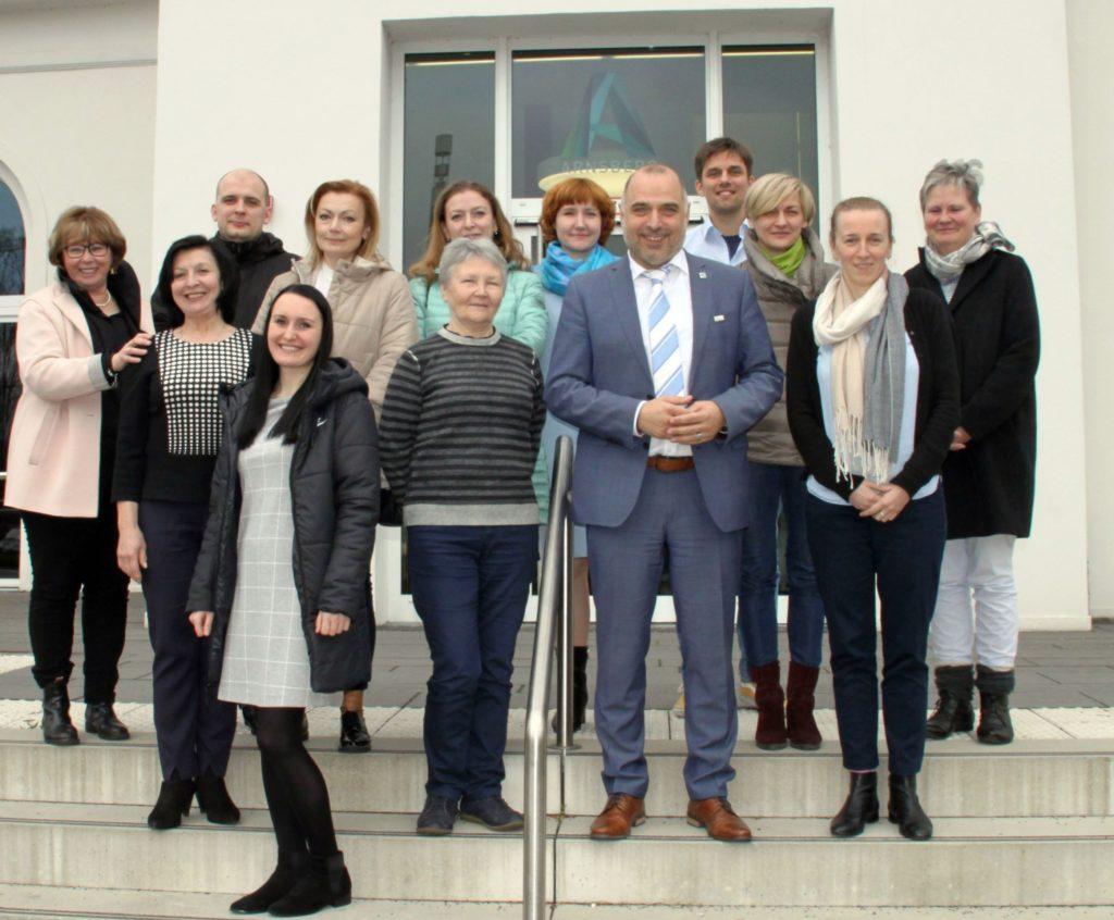 IBB Dortmund vermittelt Erfahrungsaustausch zwischen Arnsberg und Belarus