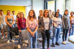 Soziale Vielfalt - Auch bei den Teilnehmern des Jugendgipfels
