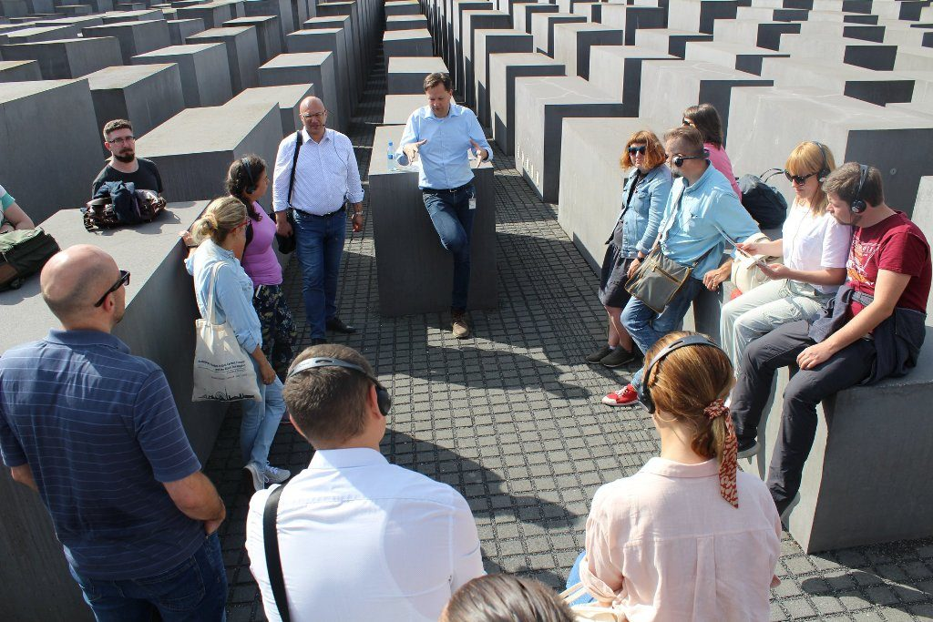 Internationale Studienreise: Historiker aus drei Ländern sehen Berlin aus vielen Perspektiven