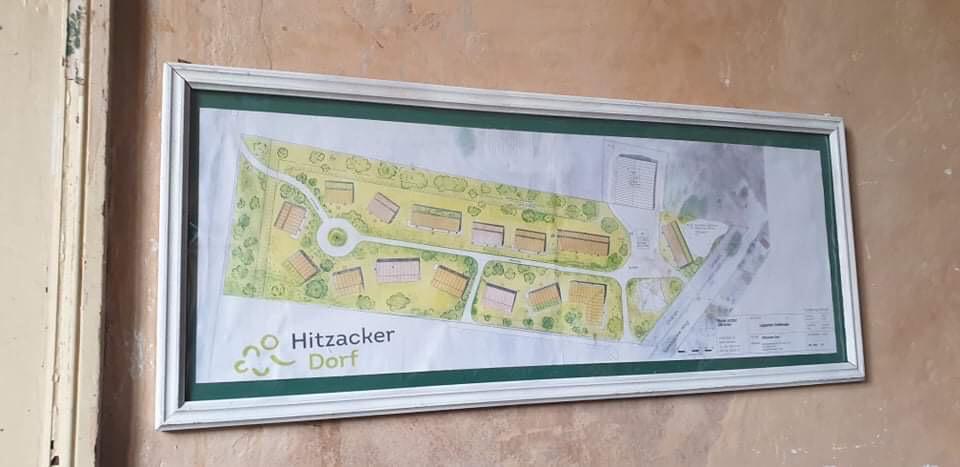 Baupolan Hitzacker/Dorf für das Projekt Europe for refugees.