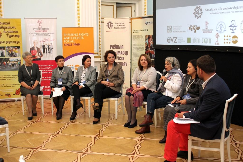Podlumsdiskussion zum demografischen Wandel in Belarus,