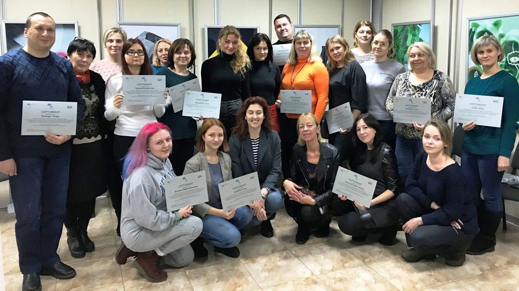 IBB Dortmund organisiert Fortbildung zur Sexualpädagogik für Sehbehinderte in der Geschichtswerkstatt Charkiw