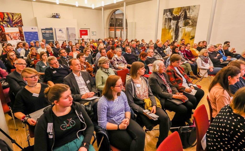 """Tagung """"75 Jahre nach Auschwitz - Potentiale historisch-politischer Bildung an Gedenkstätten und Erinnerungsorten"""" in Schwerte-Villigst."""
