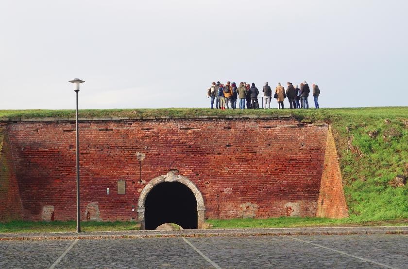 """Die """"große Festung"""" in Terezin."""