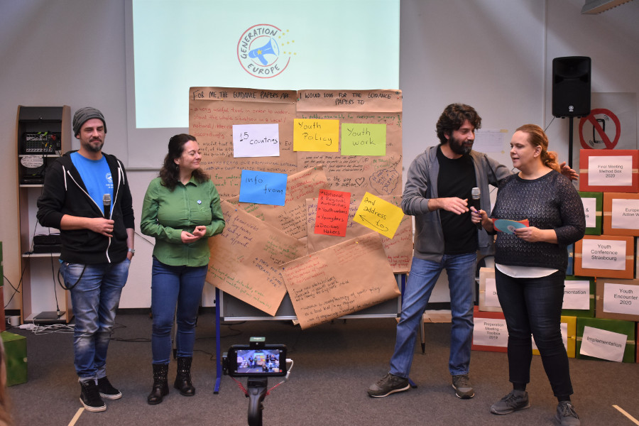 Konferenz-Bericht: Generation Europe – Young Democracy in Action