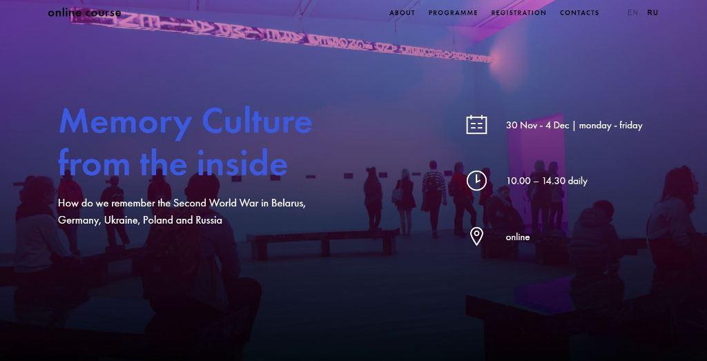 """Online-Kurs zeigte Teilnehmenden aus fünf Ländern """"Erinnerungskultur von innen"""""""