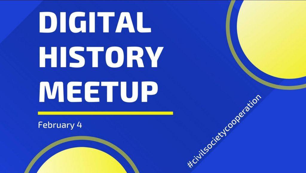 Siegerteams des Hackathons #hack4history präsentieren ihre Ergebnisse öffentlich beim Digital History Meetup '21