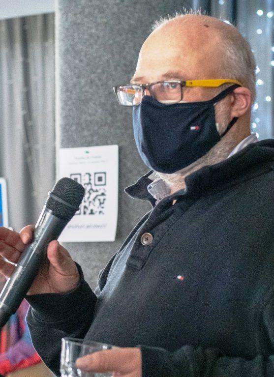 """Lars Schmidt, Referent für Nachhaltigkeit an der IBB """"Johannes Rau"""" Minsk."""