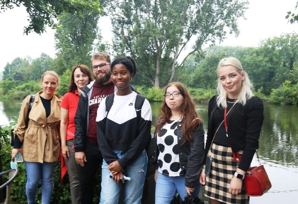 Auftakt zum 19. Internationalen Jugendgipfel im Regionalen Weimarer Dreieck mit virtuellem Wasser und Wasser von oben